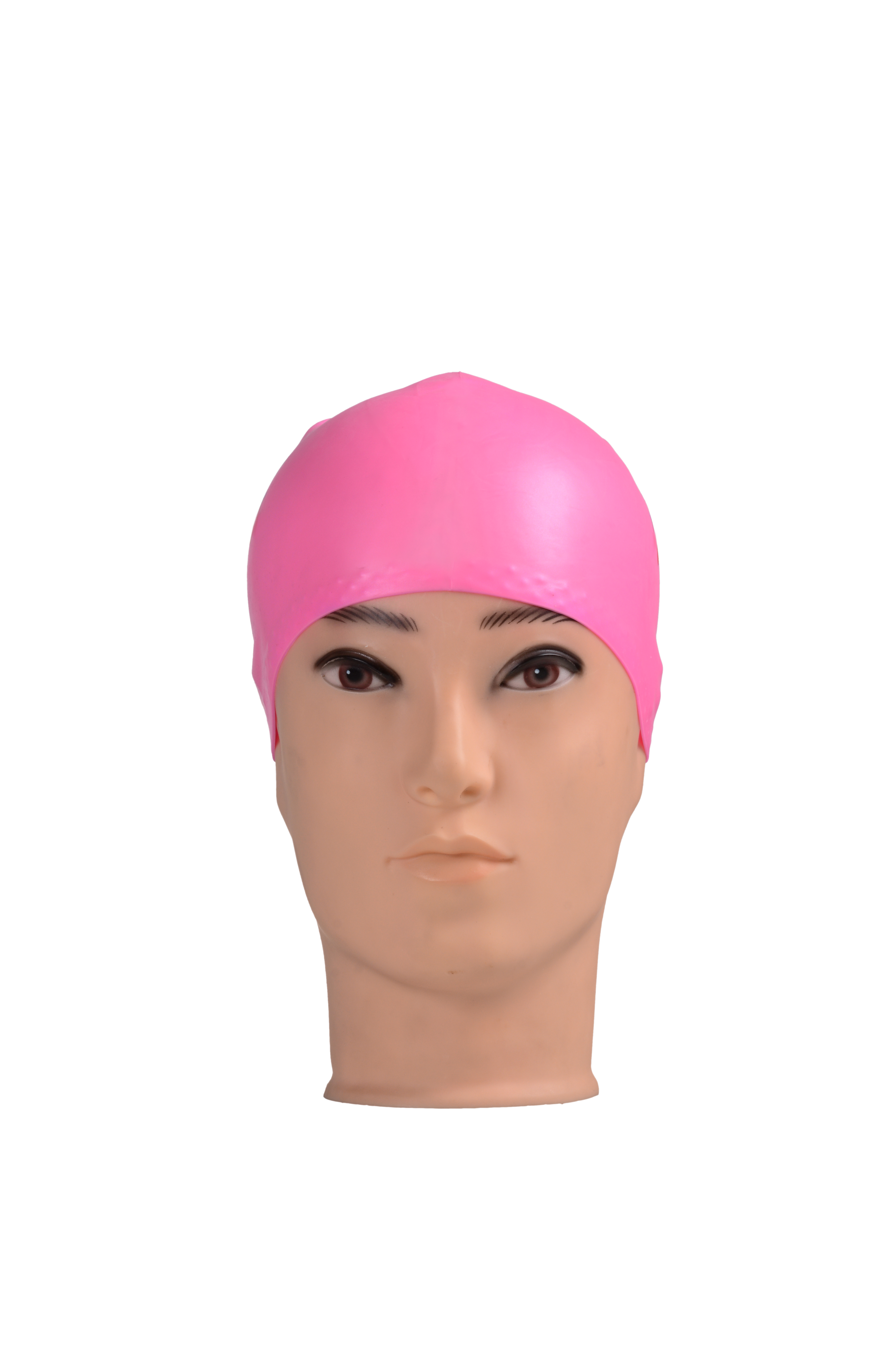 Lady swimming cap