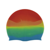 Multi-Coloured Silicone Swim Hats Unisex One Size Fits Most Indoor And Outdoor Swimming