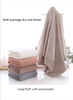 Very Soft And Comfortable Bath Towel Strong Water Absorption Coral Velvet