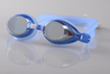 Wholesale,Split, Mirror Coating,Anti-water, Anti-fog,UV Protection Swim Goggles JB6120M custom color and package