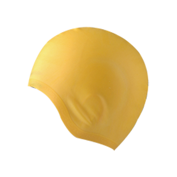 Silicone Swim Cap Ear Protection Waterproof for Big Head